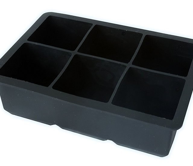 6 Compartment Ice Cube Tray