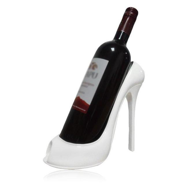 High Heel Wine Bottle Holder Black/Red/White/Gold/RoseGold