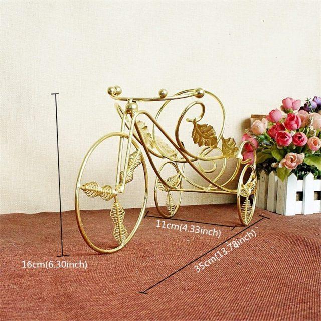 Iron Wheels Bottle Holder Gold/Bronze