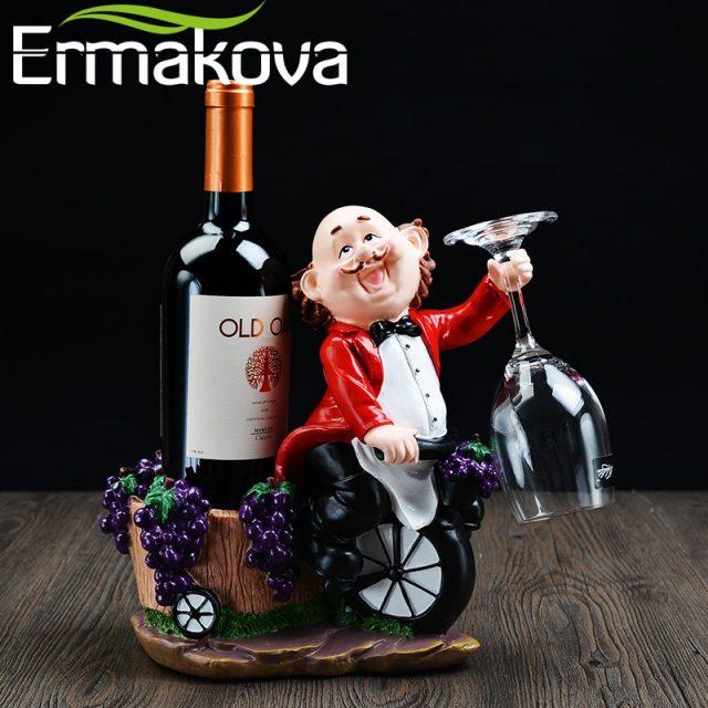 Waiter Wine Bottle/Glass Holder