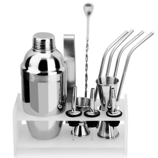 Cocktail Shaker Set 12Pcs 350/550ml