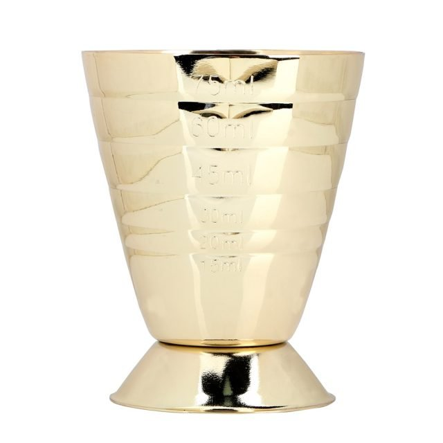 Cocktail Measure Cup 75ml Gold/Silver/RoseGold