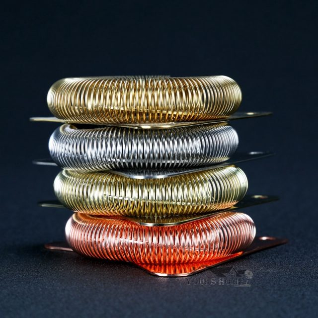 Cocktail Ice Strainer Triangle Silver/Copper/DarkGold