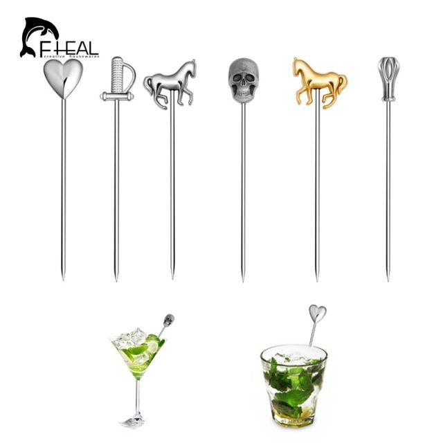 Cocktail Picks Different Styles 6Pcs/Set