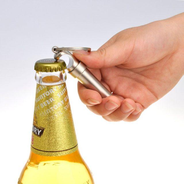 3-in-1 Keychain Bottle Opener