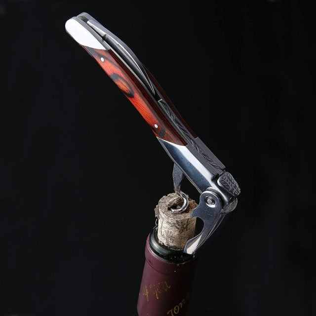 Wood Handle Professional Wine Opener (4 Designs Available)