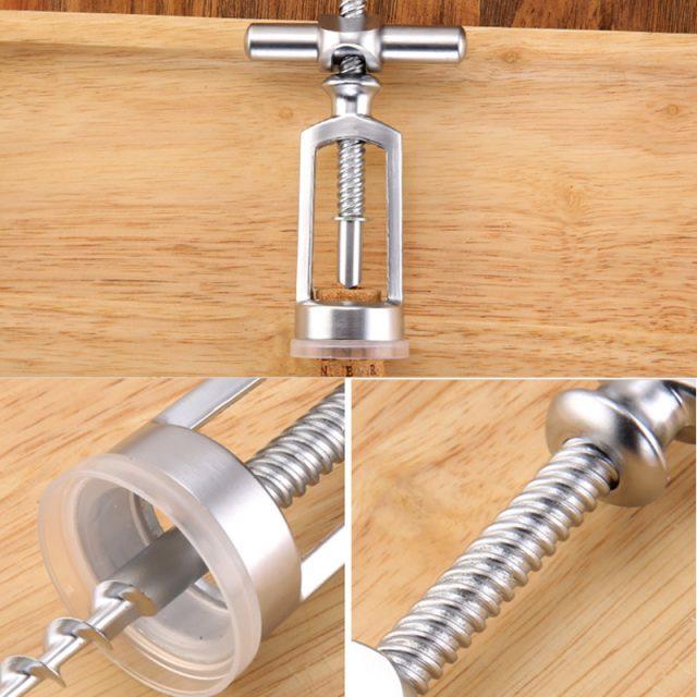 Silver Zinc Alloy Corkscrew