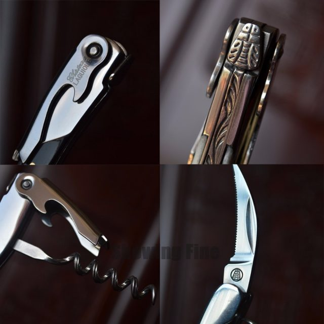 OX Bone Handle Corkscrew (3 Packings Available)