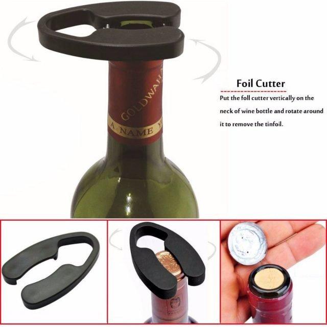 Air Pressure Corkscrew Set/4Pcs