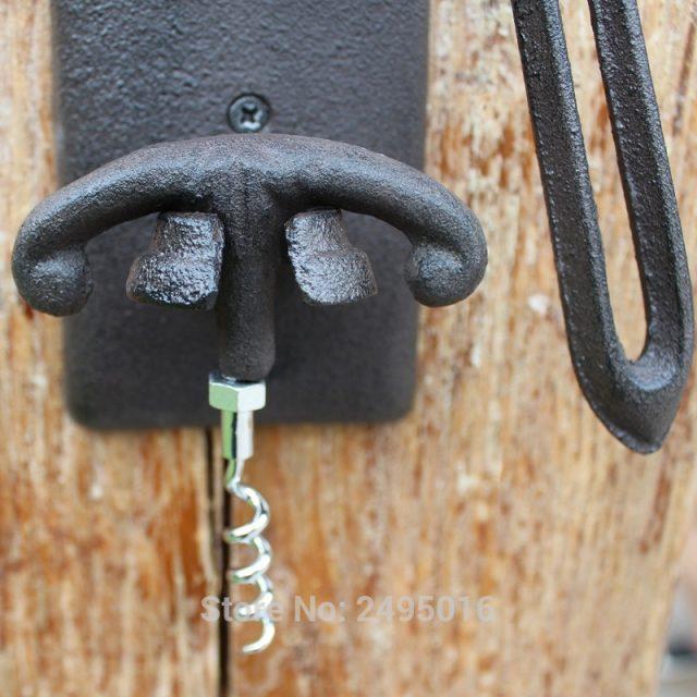 Wall Mounted Corkscrew