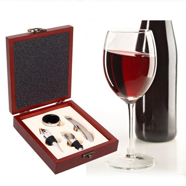 Wine Bottle Opener in Box Set/4Pcs