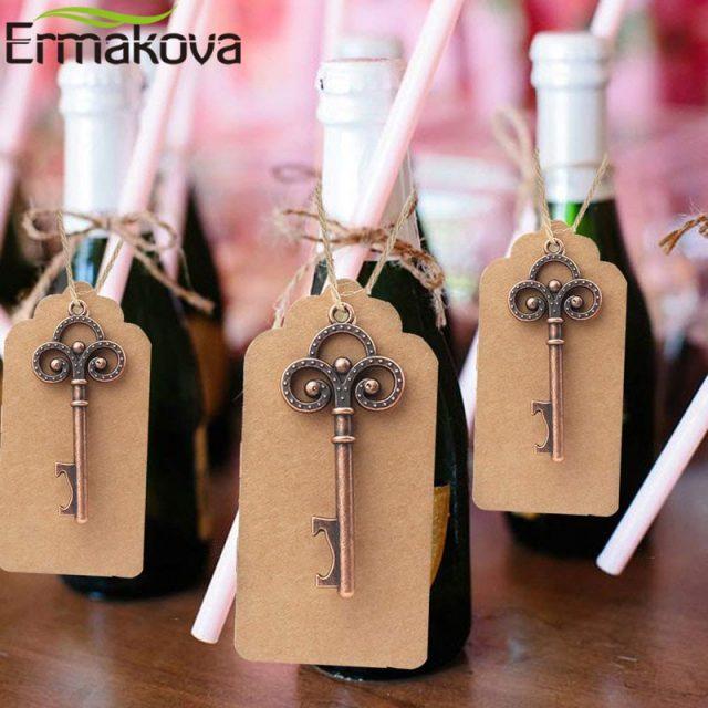 Skeleton Key Bottle Opener 50Pcs/Lot