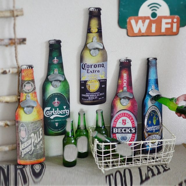 Retro Wall Bottle Opener (10 Designs Available)