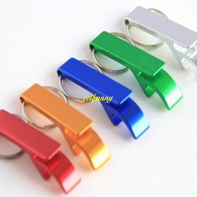Personalized Keychain Bottle Opener 50Pcs/Lot