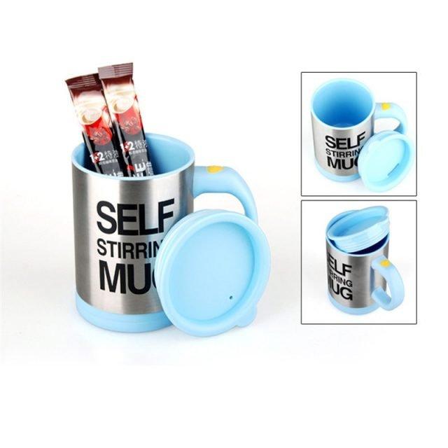 Electric Lazy Self Stirring Coffee Mug