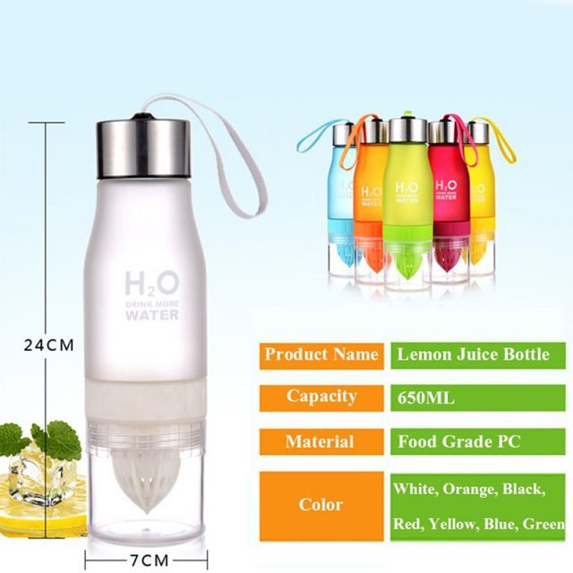 Creative Fruit Juice and Water Bottle