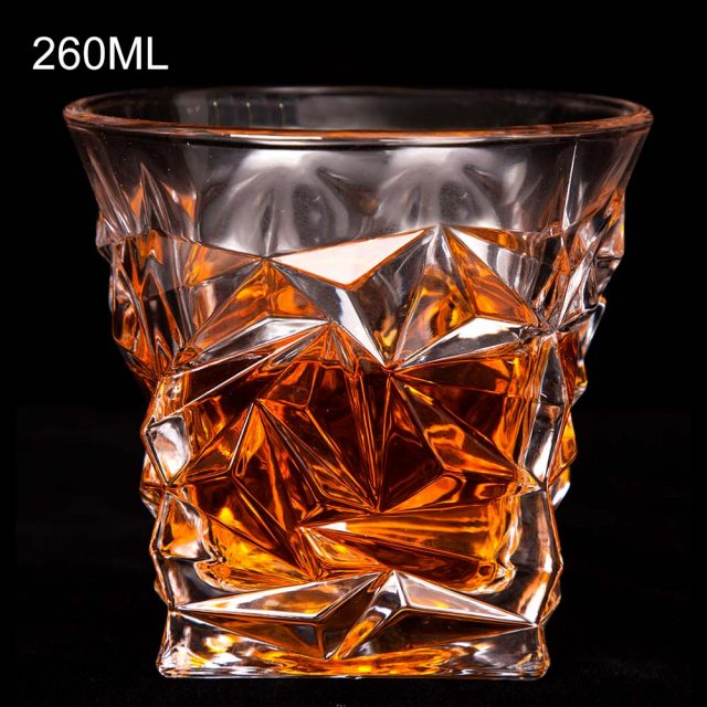 Crystal Whiskey Glass For Home Bar