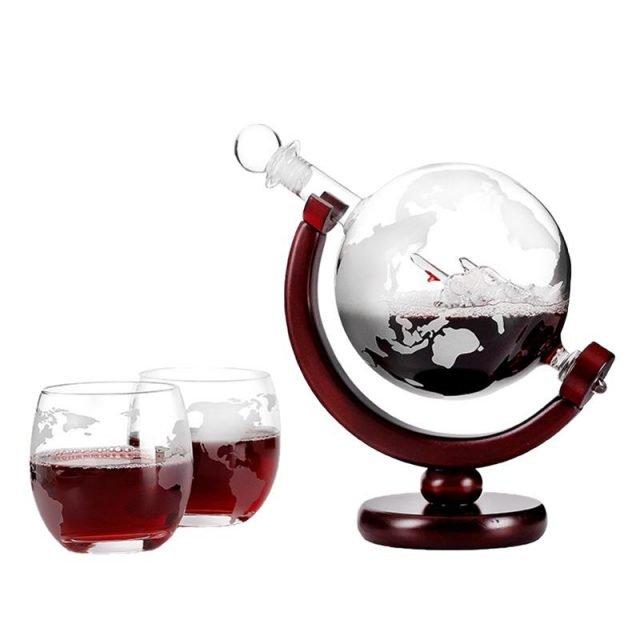 850ml Mini Globe Wine Decanter
