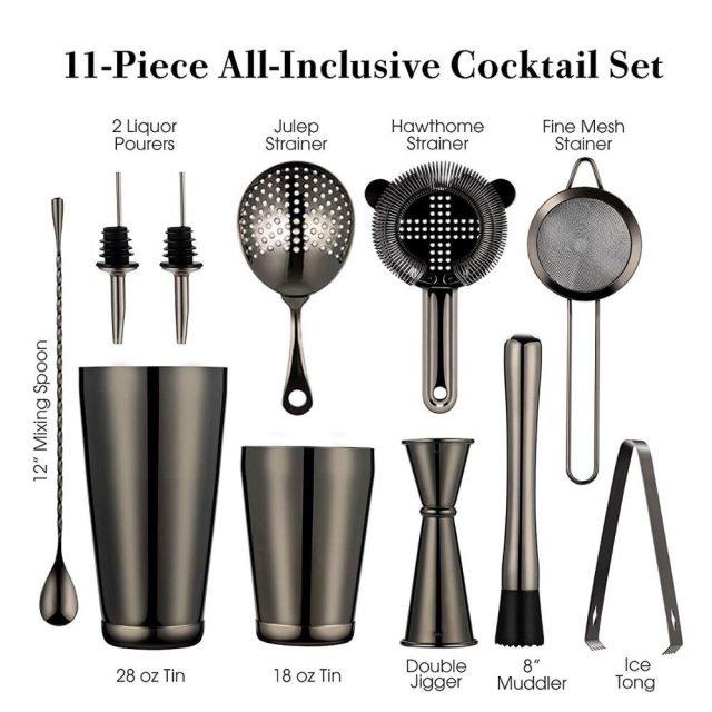 11Pcs Cocktail Bar Set