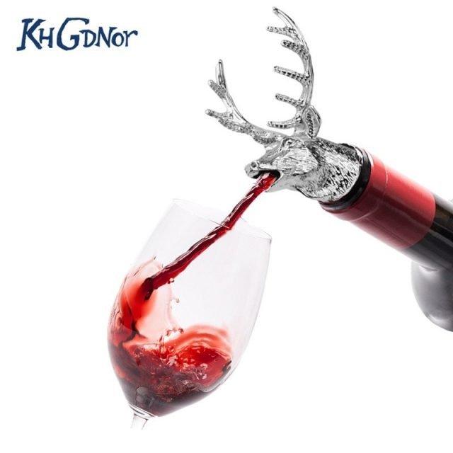Deer Head Wine Pourer
