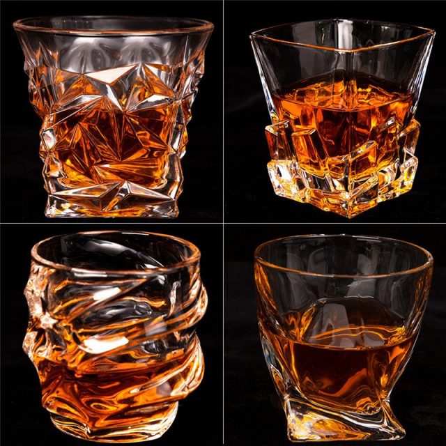 Special Lead-free Crystal Whiskey Glass Variety