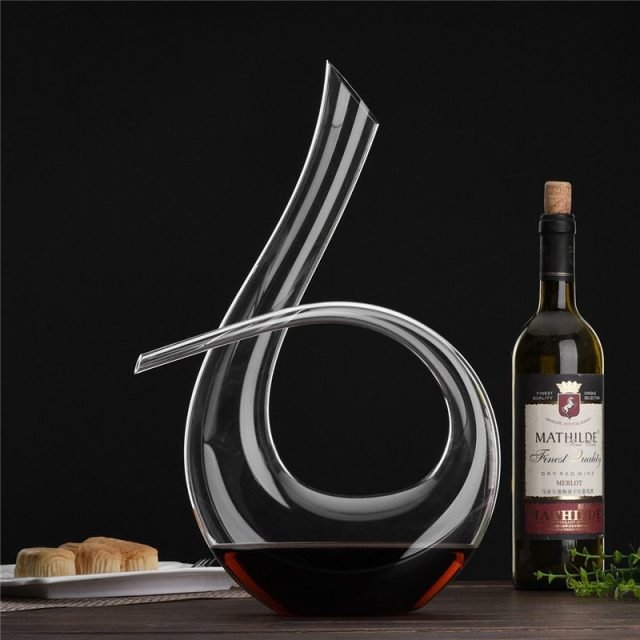 Handmade Crystal Red Wine Decanter
