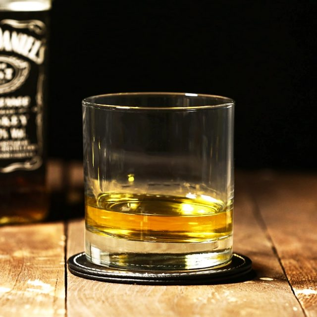 1PCS Non-leaded Crystal Old Fashioned Whiskey Glasses