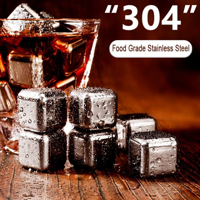 304 Reusable Stainless Steel Ice Cubes